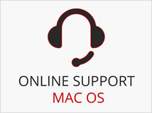 Online Support MAC OS